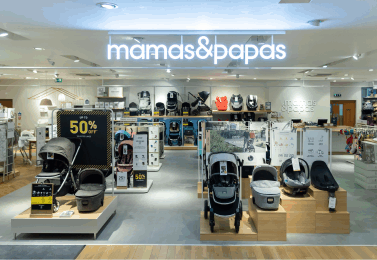 Mamas & Papas are closing six shops and cutting nearly 130 jobs as the company is sold in a pre-pack Administration